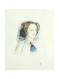 Portrait of Effie Ruskin, Later Lady Millais (Nee Euphemia Chalmers Gray), 1853