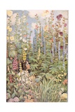 Buy A Child in Wild Flowers, from 'A Child's Garden of Verses' by Robert Louis Stevenson, Published... at AllPosters.com