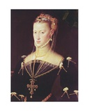 Archduchess Maria of Austria, 1551 (Detail)