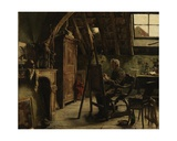 Workshop of a Painter, 1884
