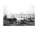 View of the Port and Town of Newcastle Upon Tyne, from the Rope Walk, Gateshead, Engraved by…