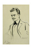 Portrait of the Composer Jean Sibelius, Small Half-Length