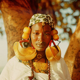 A Fulah Woman Photographed at Mopti