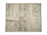 A Map of the Province of New York with Part of Pensylvania, and New England, from an Actual…