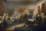Signing the Declaration of Independence, July 4th, 1776 Giclee Print