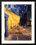 Buy The Café Terrace on the Place du Forum, Arles, at Night, c.1888 at AllPosters.com