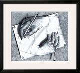 Buy Drawing Hands at AllPosters.com