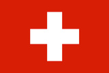 Switzerland National Flag Poster
