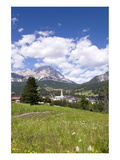 Buy View of Cortina d' Ampezzo, Dolomites, Veneto, Italy at AllPosters.com
