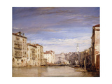 Buy A View of the Grand Canal Venice, from the Palazzo Bernardo Looking Towards the Rialto Bridge at AllPosters.com