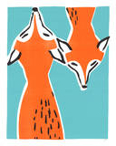 Buy Friendly Foxes at AllPosters.com