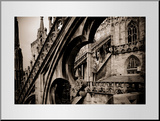 Buy Lombardy, Milan, Piazza Duomo, Duomo Cathedral, Roof Detail, Italy at AllPosters.com