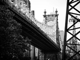 Ed Koch Queensboro Bridge (Queensbridge) View, Manhattan, New York, Black and White Photography