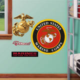 USMC Insignia Fathead Jr. Wall Decal