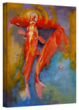 Buy Michael Creese 'Koi Bubbles' Gallery-Wrapped Canvas at AllPosters.com