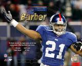 Tiki Barber Sets Giant's Single-Season and All-Time Rushing Record