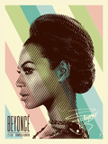 Beyonce (Staples Center) Art Print