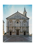 Buy Fa?e of Pienza Cathedral at AllPosters.com