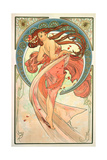 The Arts: Dance, 1898 Giclee Print