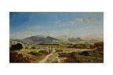 Hills Near Allauch, 1862