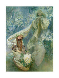 Buy Madonna of the Lilies, 1905 at AllPosters.com
