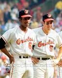 Baltimore Orioles - Brooks Robinson, Paul Blair Photo