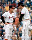 Baltimore Orioles - Earl Weaver, Jim Palmer Photo