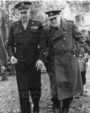 Historical - Dwight Eisenhower, Winston Churchill Photo