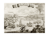 Buy An Old Illustration Of Strait Of Messina, Between Italian Peninsula And Sicily at AllPosters.com