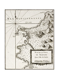 Buy An Old Map Of Trapani And Surrounding Territories at AllPosters.com