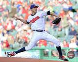 Cleveland Indians - Ubaldo Jimenez Photo