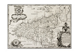 Buy Old Map Of Sicily at AllPosters.com
