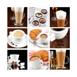 Buy Set Of Coffee Drinks at AllPosters.com