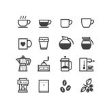 Buy Coffee Icons at AllPosters.com