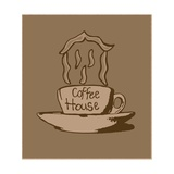 Buy Coffee House Vintage at AllPosters.com