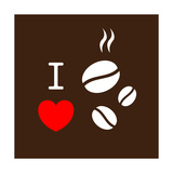 Buy I Love Coffee at AllPosters.com