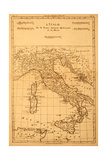 Buy Antique Map Of Italy at AllPosters.com