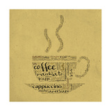 Buy Coffee Cup Of Words at AllPosters.com