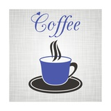 Buy Blue Cup Of Coffee at AllPosters.com