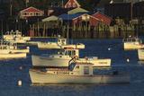 Buy Fishing Boats Anchored in Bass Harbor, Bernard, Maine, USA at AllPosters.com