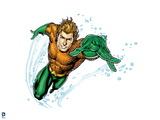 Justice League: Aquaman Swimming