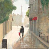 Paris Romance I Art Print