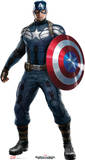 Captain America 2: Winter Soldier  - Captain America Lifesize Standup Stand Up