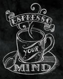 Buy Espresso Your Mind No Border at AllPosters.com