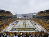 Heinz Field in the Snow