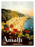 Amalfi Italia - Campania, Italy Art Print