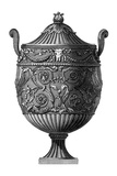 Black and White Urn III
