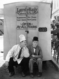 Oliver Hardy, Stan Laurel, Pack Up Your Troubles, 1932 Photographic Print
