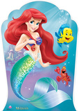 Little Mermaid - Ariel and Friends Lifesize Standup Stand Up