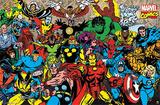 Marvel - Retro Lineup